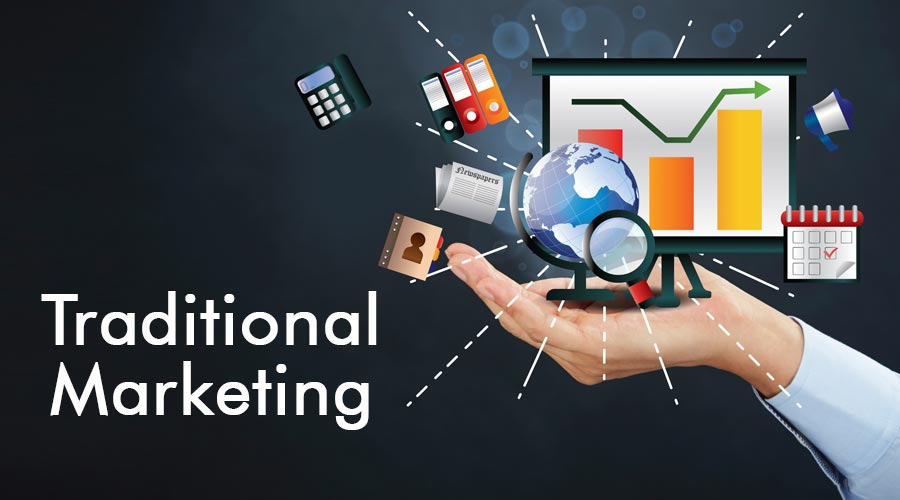 traditional marketing industry
